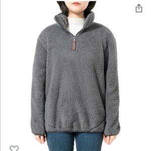 Jjyee Sherpa Quarter Zip Pullover